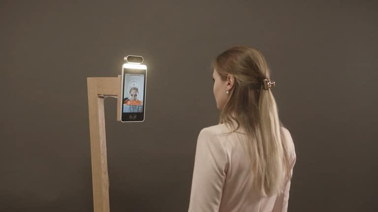 cruise software with biometric kiosk